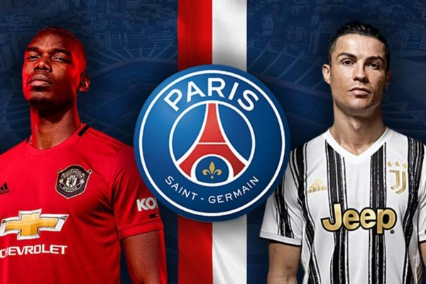 Paris Saint-Germain are planing to get Ronaldo and Pogba for free.