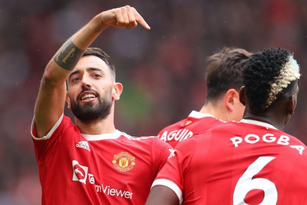 Manchester United midfielder Bruno Fernandes has hailed team-mate Paul Pogba for his masterpiece in their 5-1 win over Leeds.